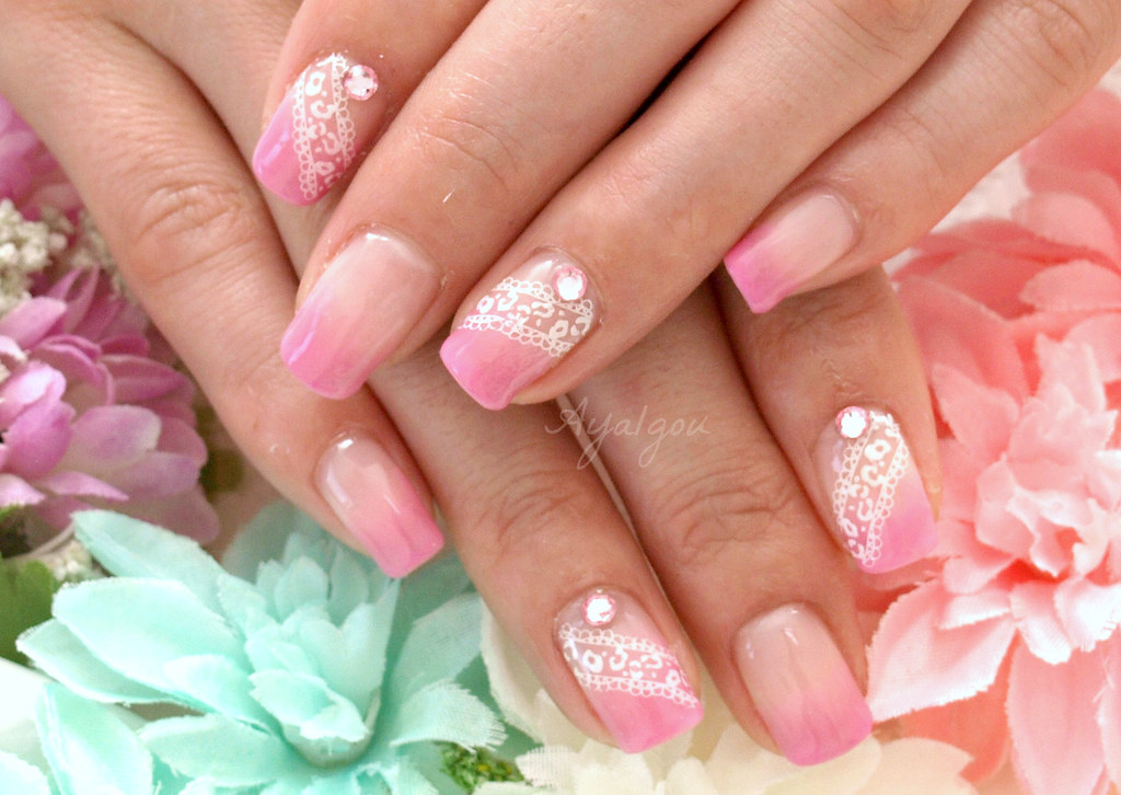 Girly kawaii nails | My client Remove old gel and art off He… | Flickr