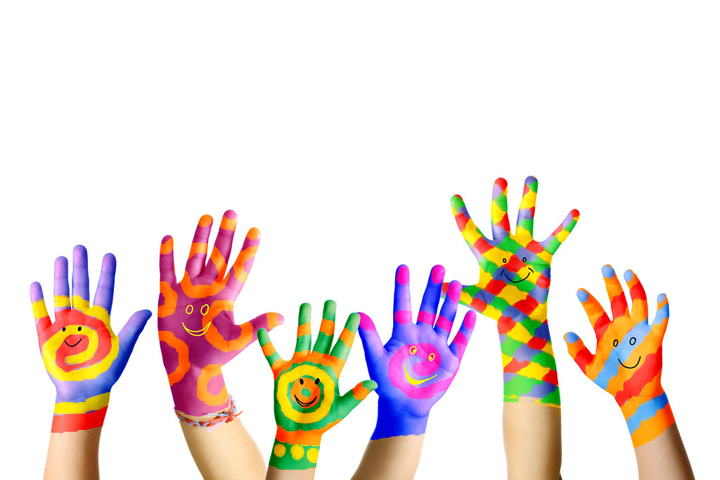 painted hands gabriele academy flickr