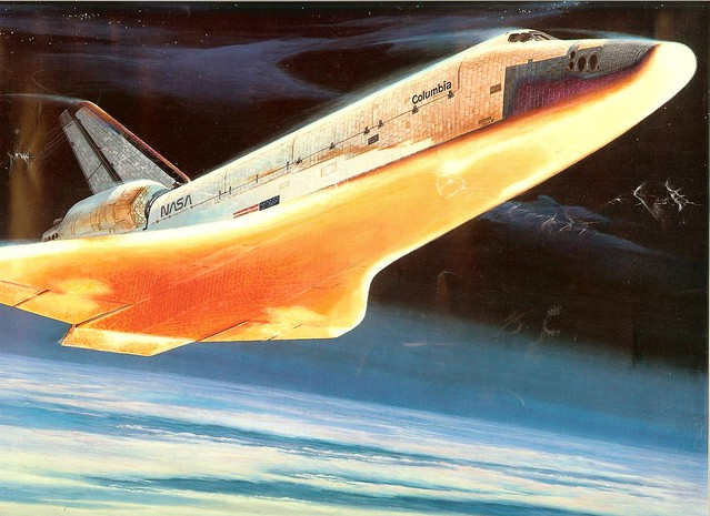 space shuttle re entry angle - photo #42