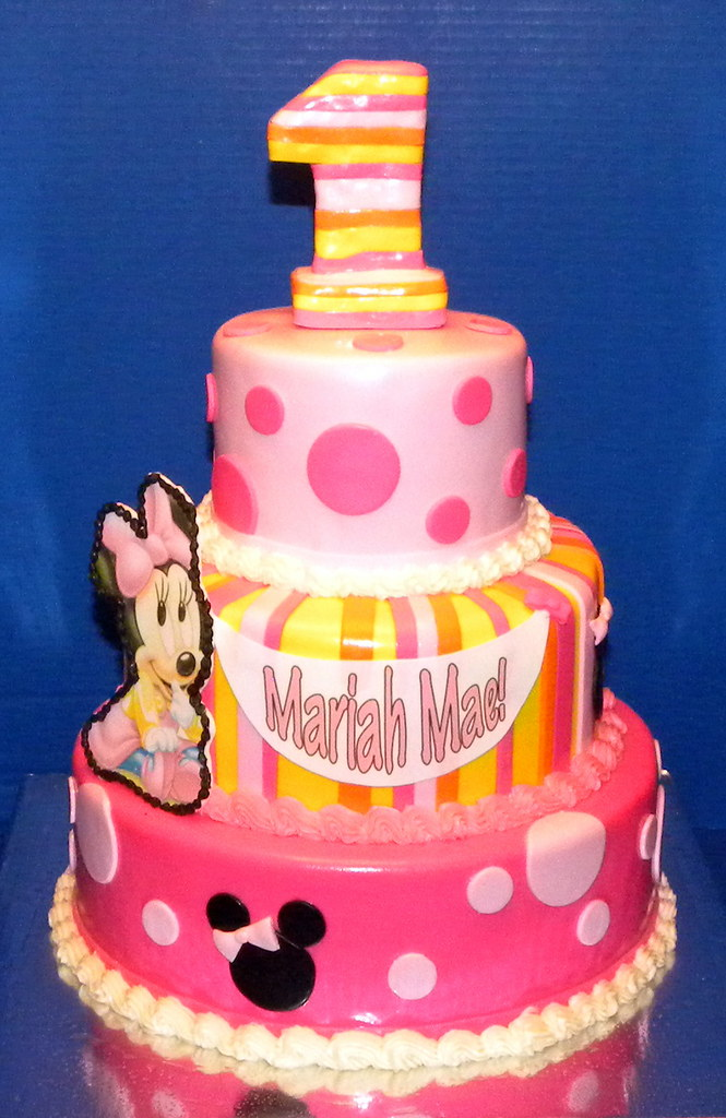 baby first birthday cake minnie mouse baby birthday cake www 1425