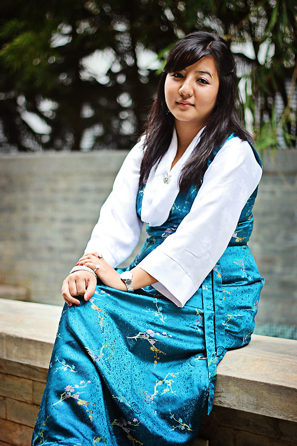 Bakhu Kho Ethnic Dress Of Tibet Model Prasanna Lama
