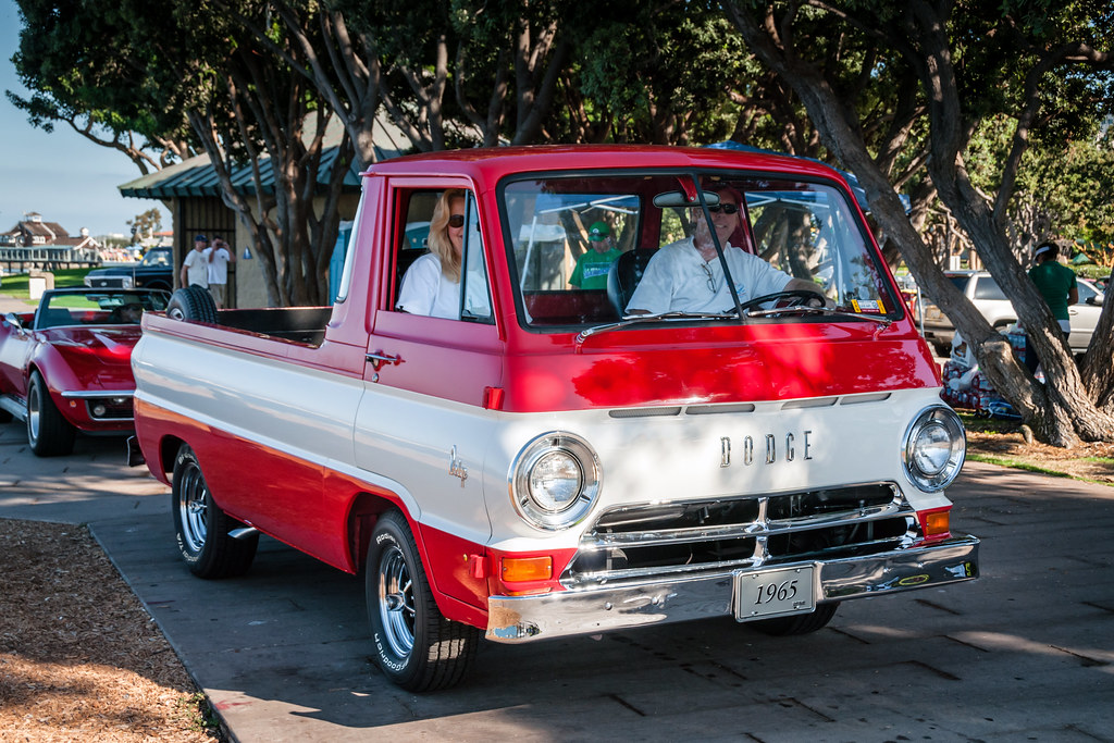 Dodge A100 pickup truck | Bill Dickinson | Flickr
