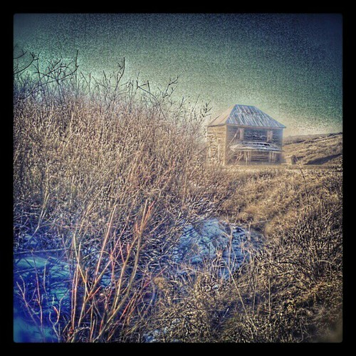 This #abandoned #ranch #house Just Off Of #Last #Dollar #R