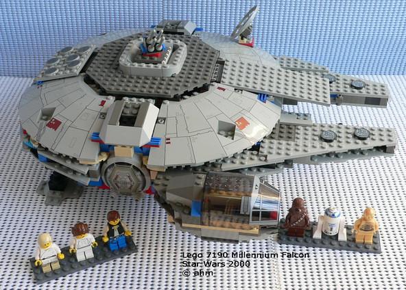 Star Wars Lego 7190 Millennium Falcon