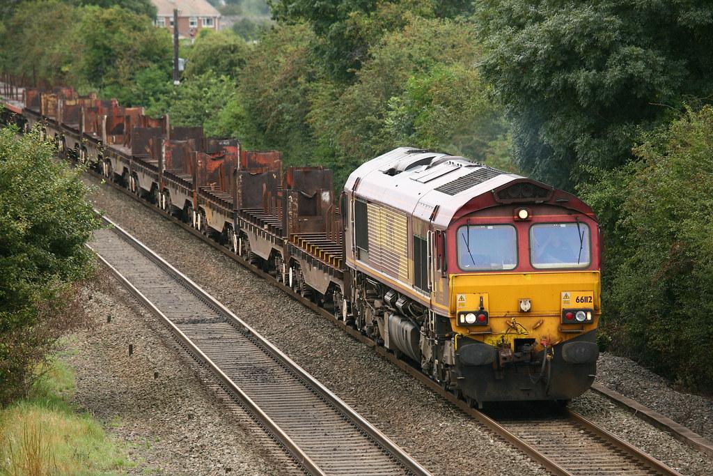 EWS-DB Schenker Rail / General Motors EMD JT42CWR Class 66 ...