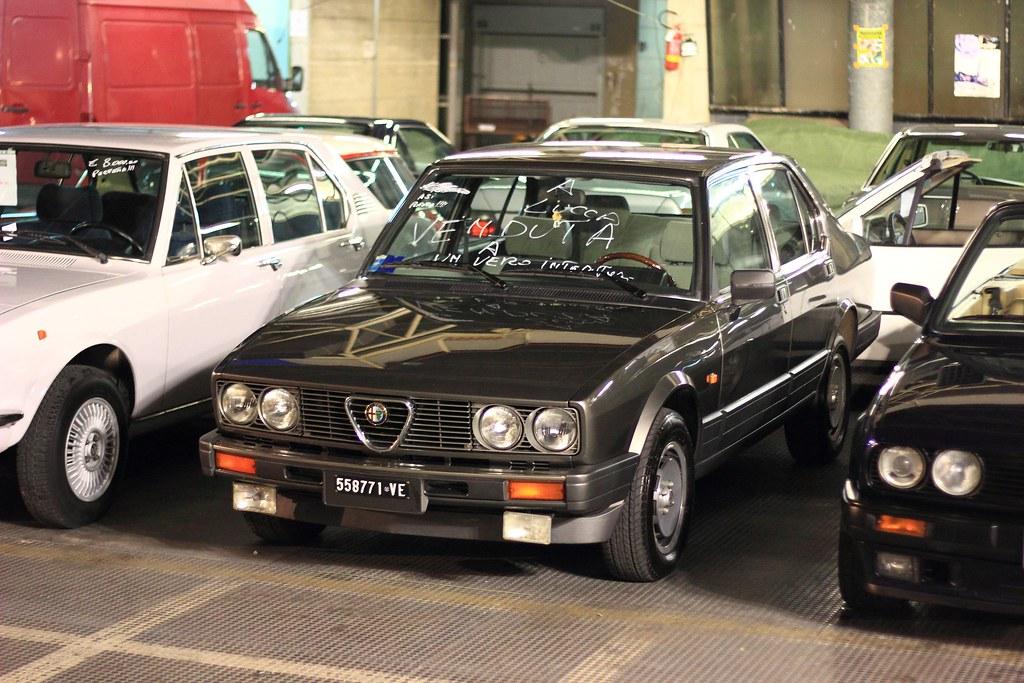 Alfa Romeo Alfetta 2 0i Quadrifoglio Oro Alessio Flickr