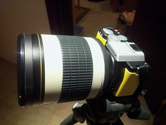 500mm Rokinon on Pentax K-01
