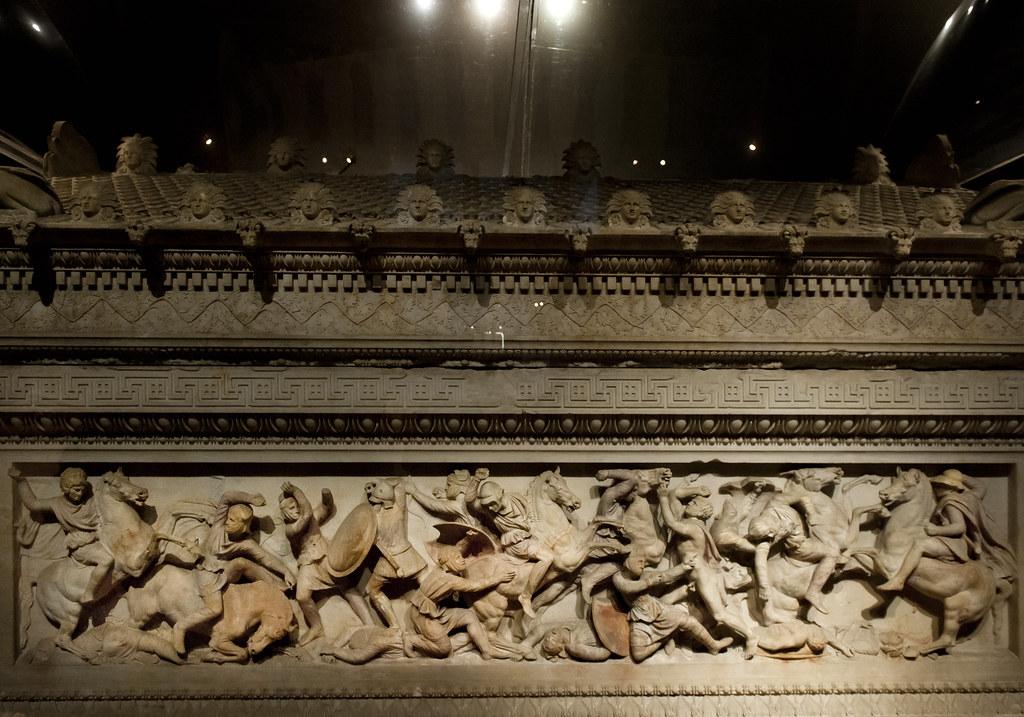 Alexander S Sarcophagus I The So Called Sarcophagus Of