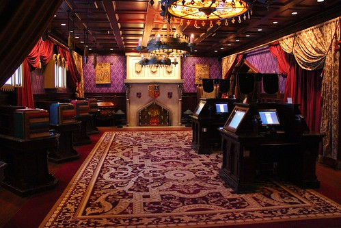 Be our guest restaurant ricky brigante flickr for 3 dining rooms at be our guest