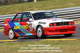 BMW M3 2.5 E30 Group A ex- JTCC , Anthony Reid , Asahi Kiko Valvoline , 1993 - Historic Sandown 2012 - HISA12-SUN-0276 | by Peter Ellenbogen