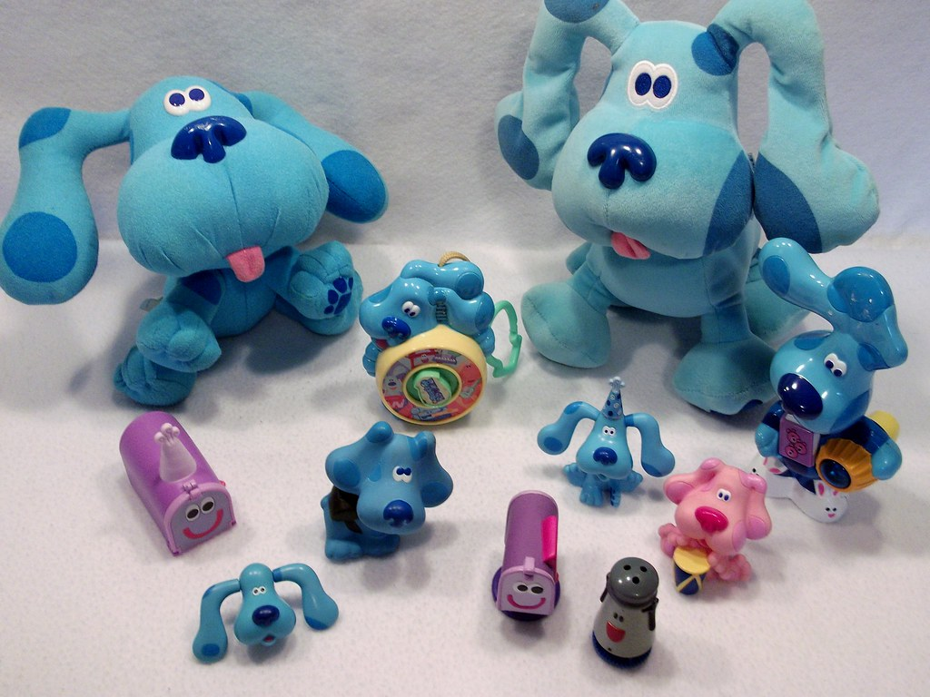Lot of Nick Jr blues clues toys | www.katrinastoys.com ...
