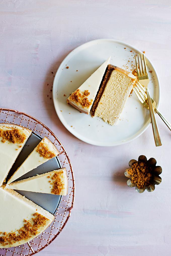 Baileys Pumpkin Spice Cheesecake