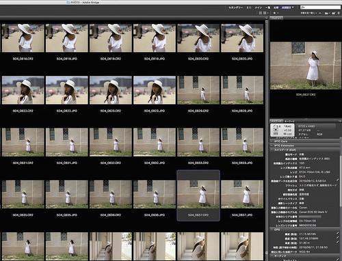 Adobe Camera Raw 9.7  EOS 5D Mark IVのRAWに対応