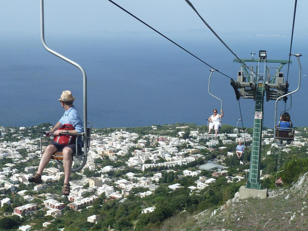 capri monte solaro chair lift monte solaro chair lift flickr