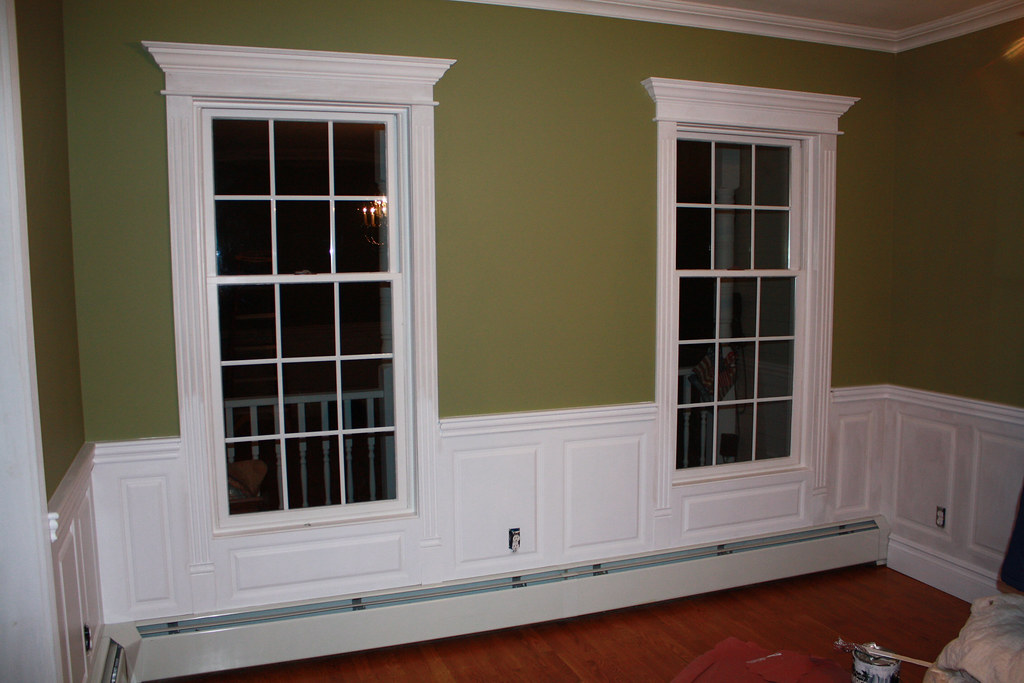 Wainscoting Panel Beaded Raised Panel Dining Room Blauvelt