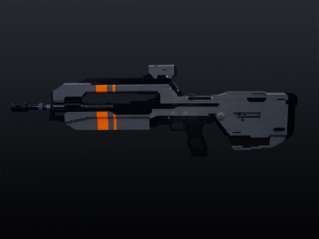 Halo 4 Battle Rifle (WIP) — polycount