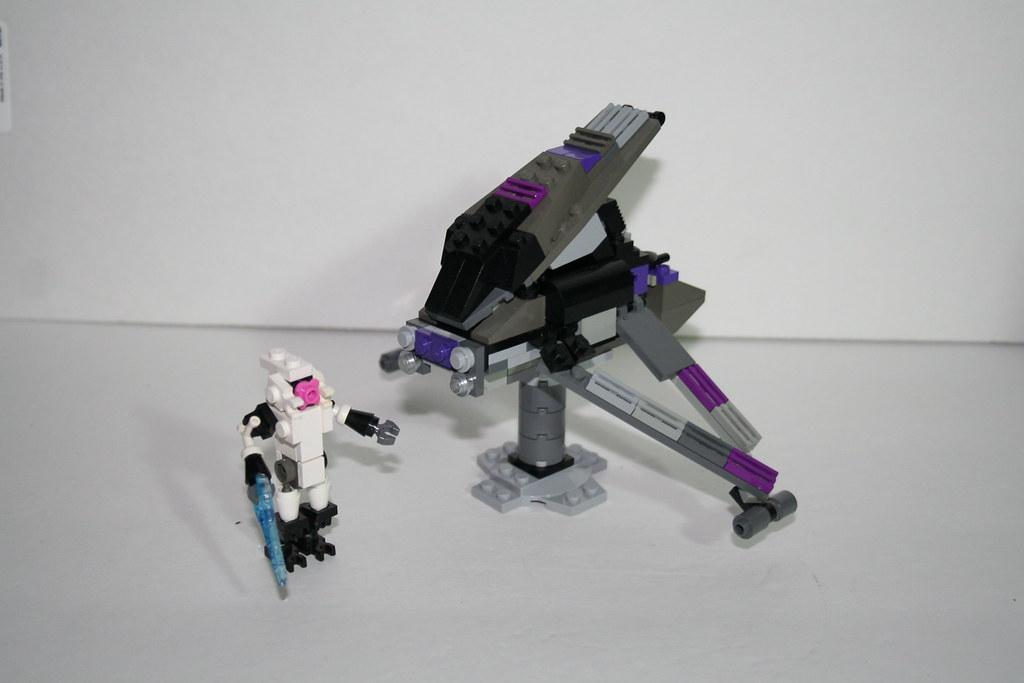 how to make a lego halo