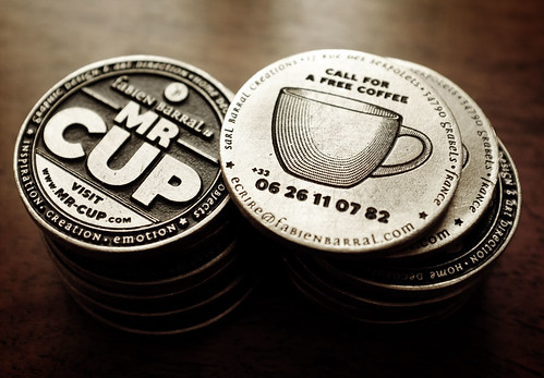 Mr Cup Coin business card / Mr cup now online ! | by fabienbarral