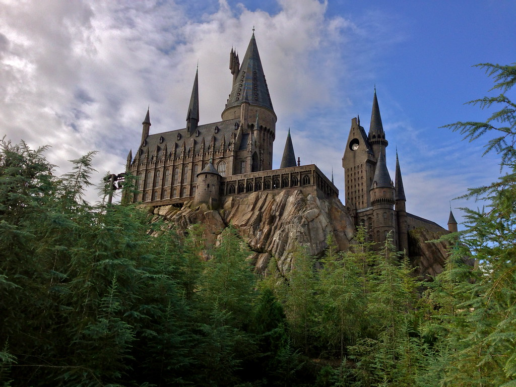Hogwarts Castle Wizarding World Of Harry Potter Islands
