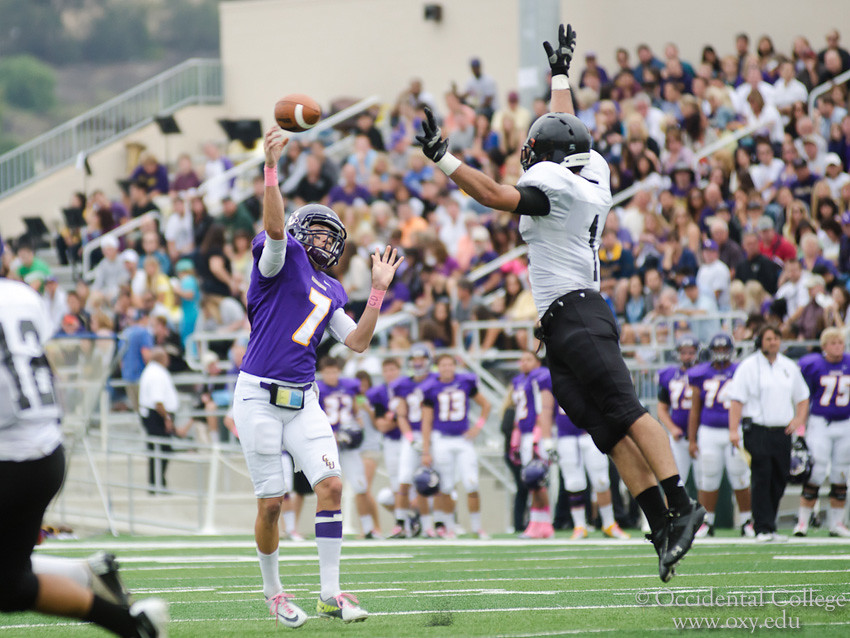 Cal Lutheran Occidental College Football Cal Lutheran King Flickr