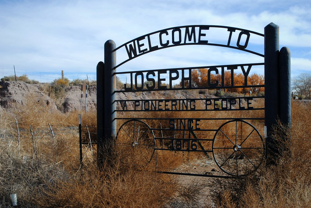 Joseph City Arizona Joseph City Is Located On