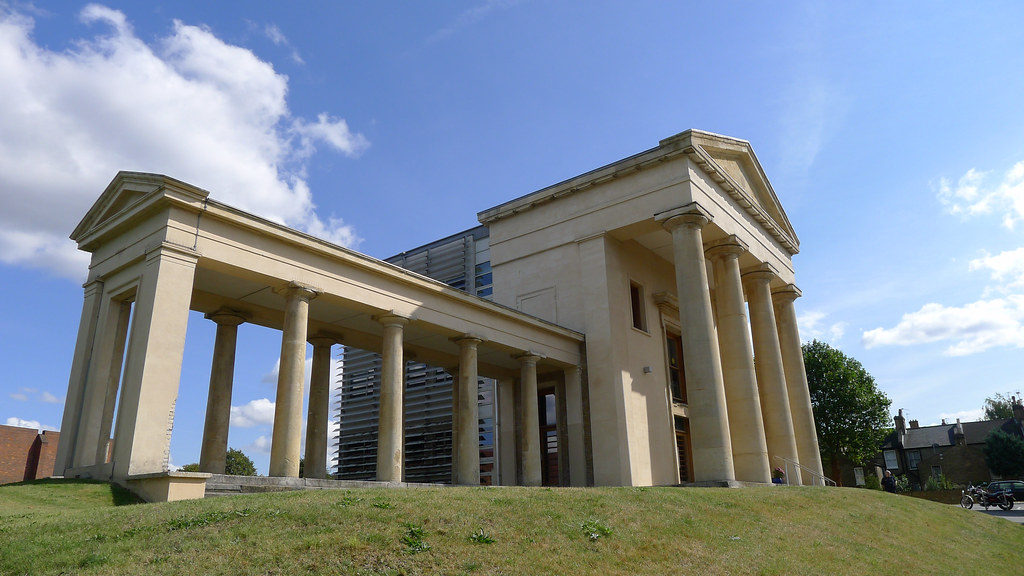 how to build a flared portico
