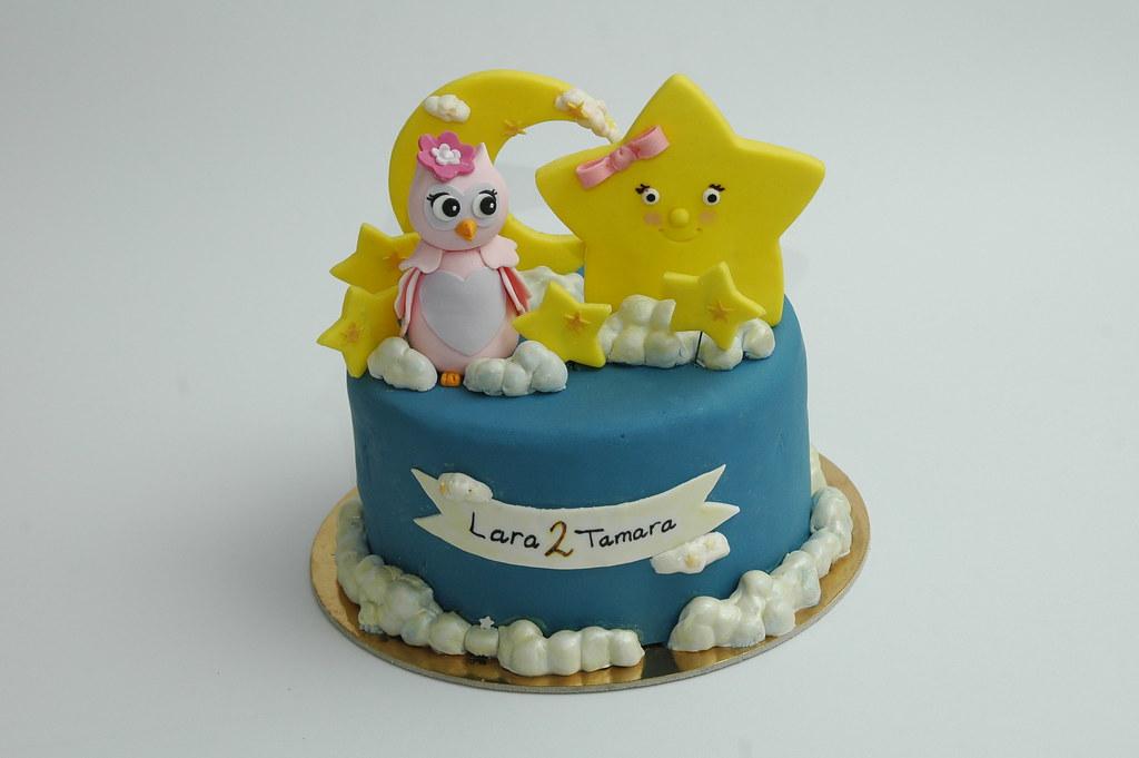 Twinkle Twinkle Little Star Birthday Cake Deema Adel Flickr