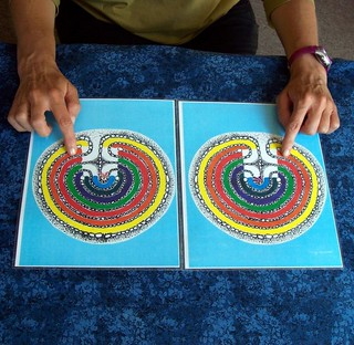 Tabletop labyrinth - balance your chakras! | by jan4insight