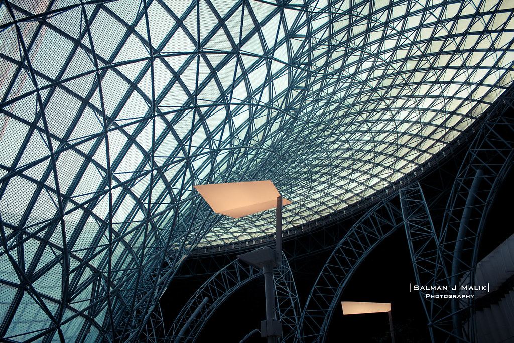 Space Frame Structure! | From the inside of Ferrari World ar… | Flickr