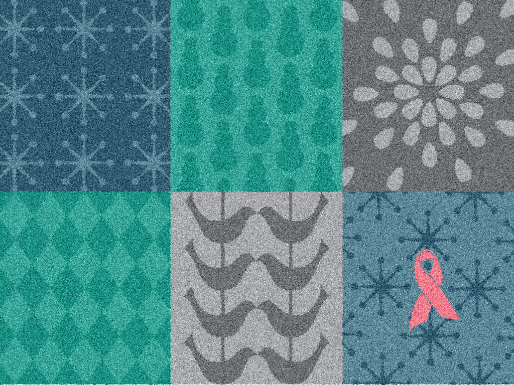 Winter Wonders Pink Ribbon Welcome Mat More Info At Www