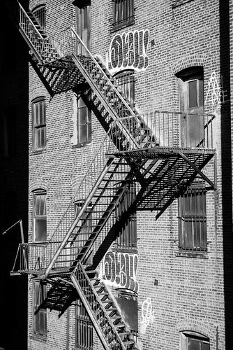 Fire Escape New York City 1940s : Fire escape new york photography in nyc is easy