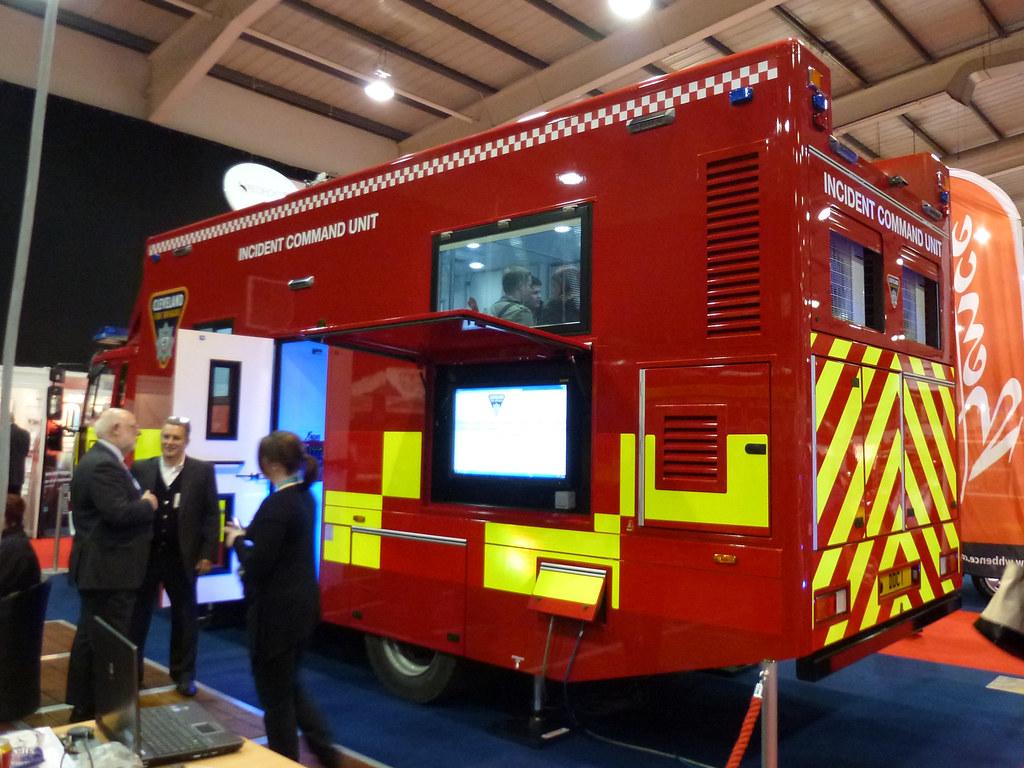 cleveland fire brigade incident command unit