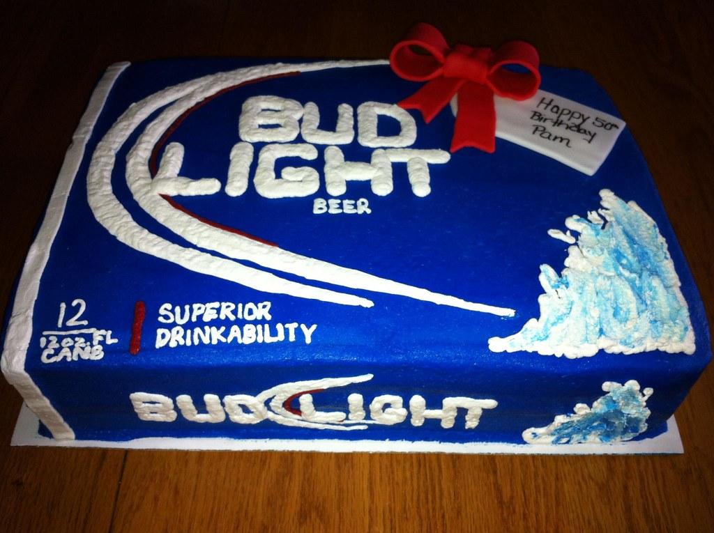 Bud Light Case Cake Jen S Cakes And Treats Flickr