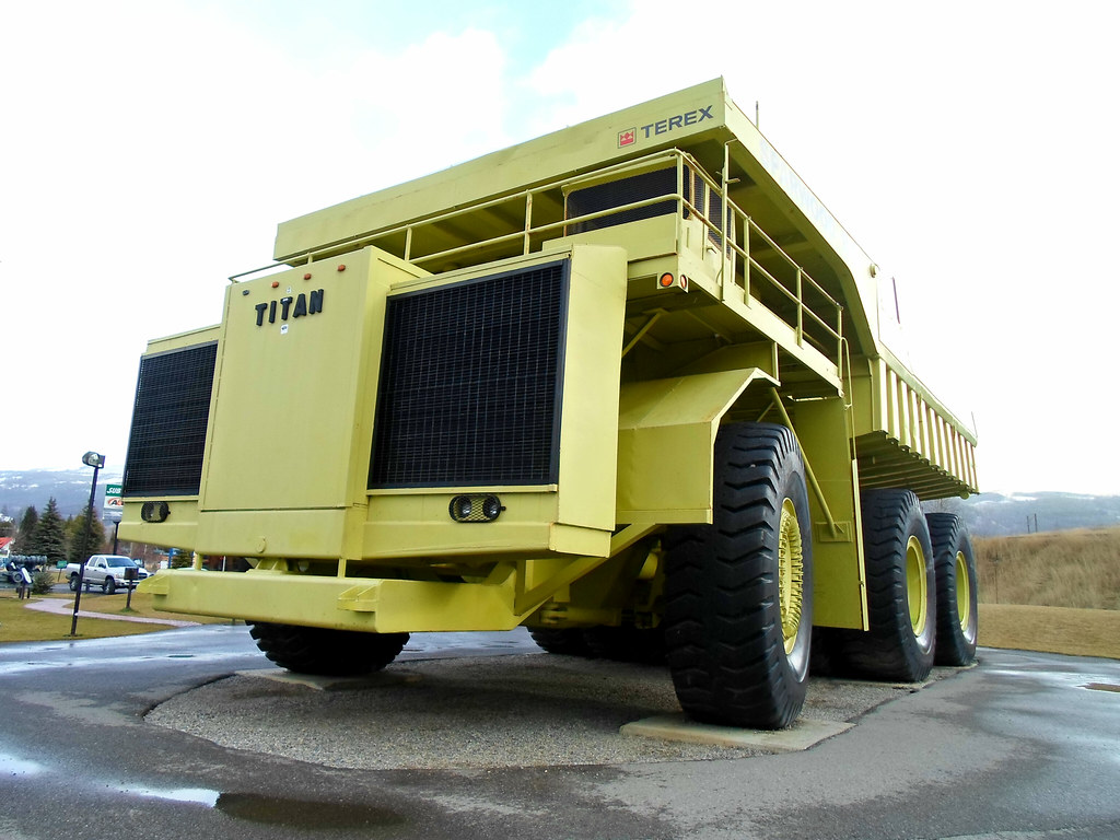 world 39 s largest truck 1973 terex titan 33 19 dump truck flickr. Black Bedroom Furniture Sets. Home Design Ideas