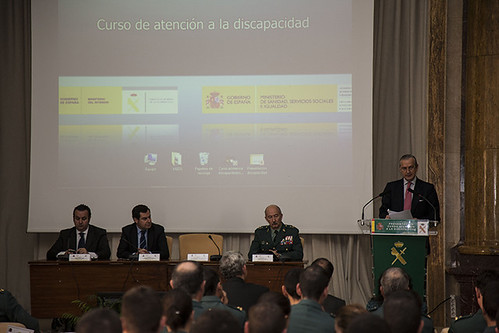 El director general de la guardia civil inaugura las xv j for Ministerio del interior guardia civil