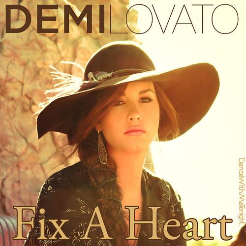 Demi Lovato Fix Heart Dancewithmetonight Designs