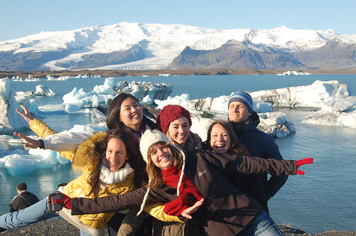 Worldwide Friends volunteers at Jokulsarlon icebergs in Iceland | by Flora_AB