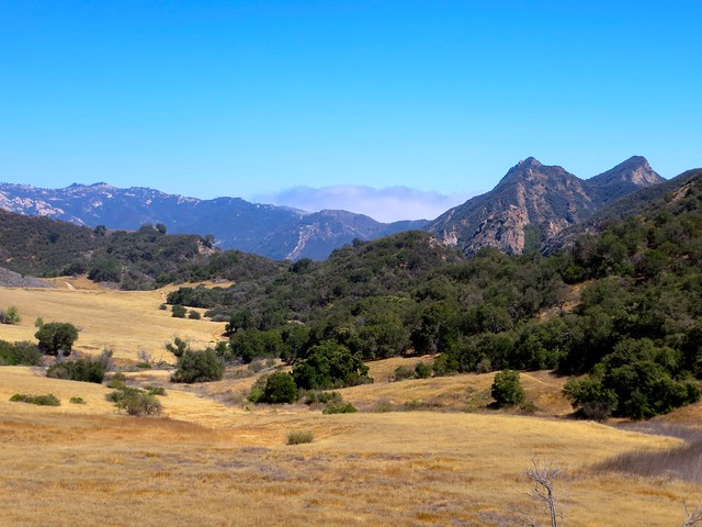 mountains and the marine layer