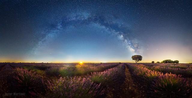 Amanecer lunar