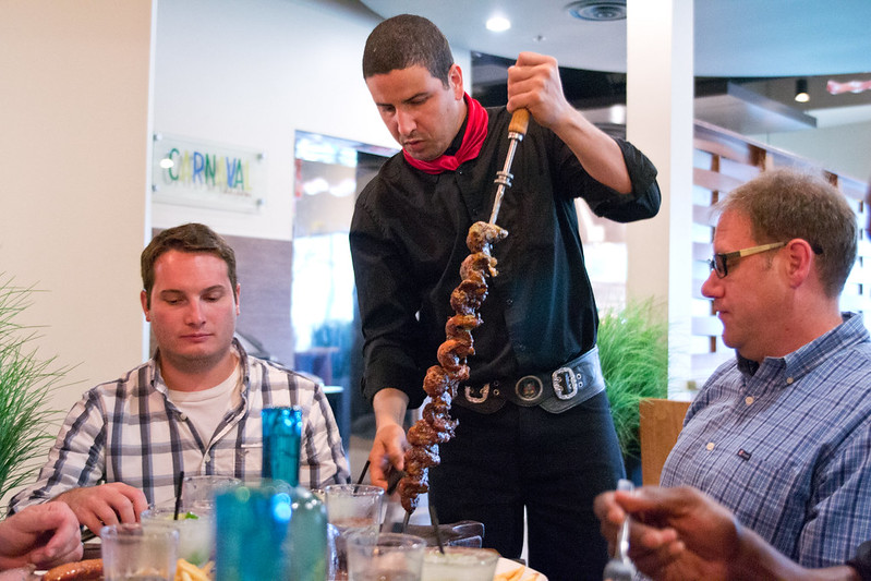 Rodízio at Carnaval Brazilian BBQ | packmeto.com