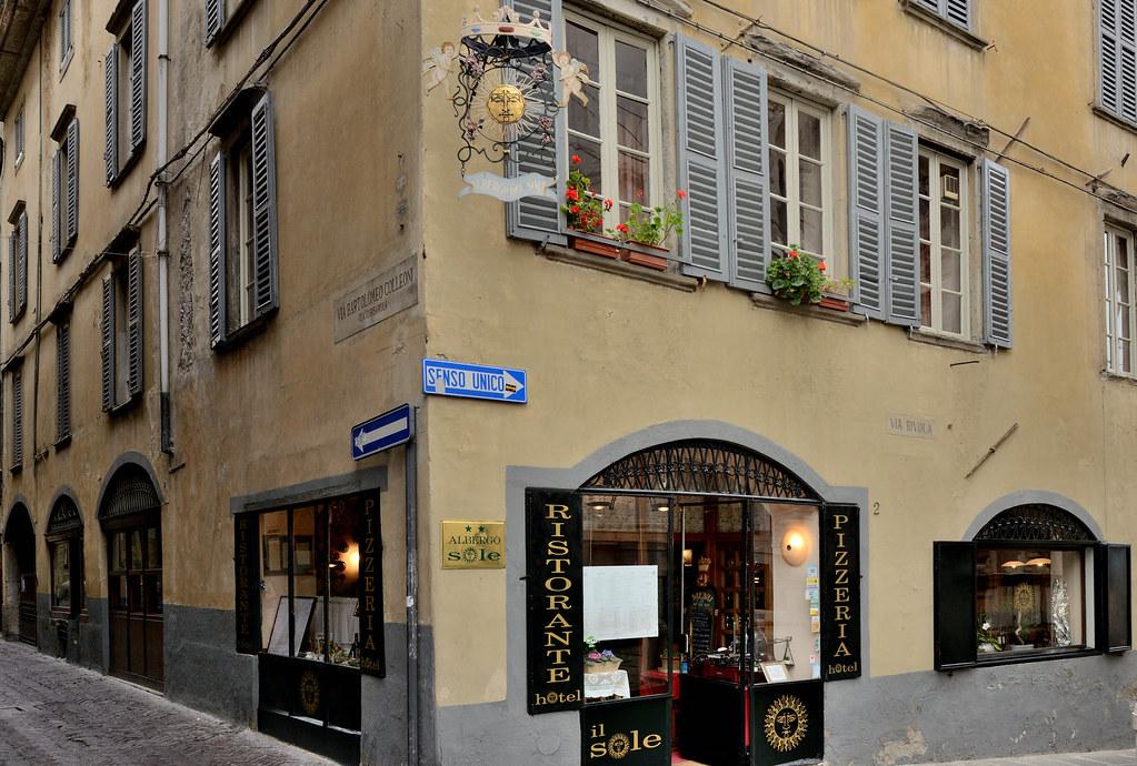 ristorante il sole bergamo citta alta the hotel and