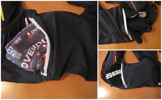Οι δυο πλαινές βασικές, ελαστικές και ιδιαίτερα ευρύχωρες τσέπες του σακιδίου, με φερμουάρ!