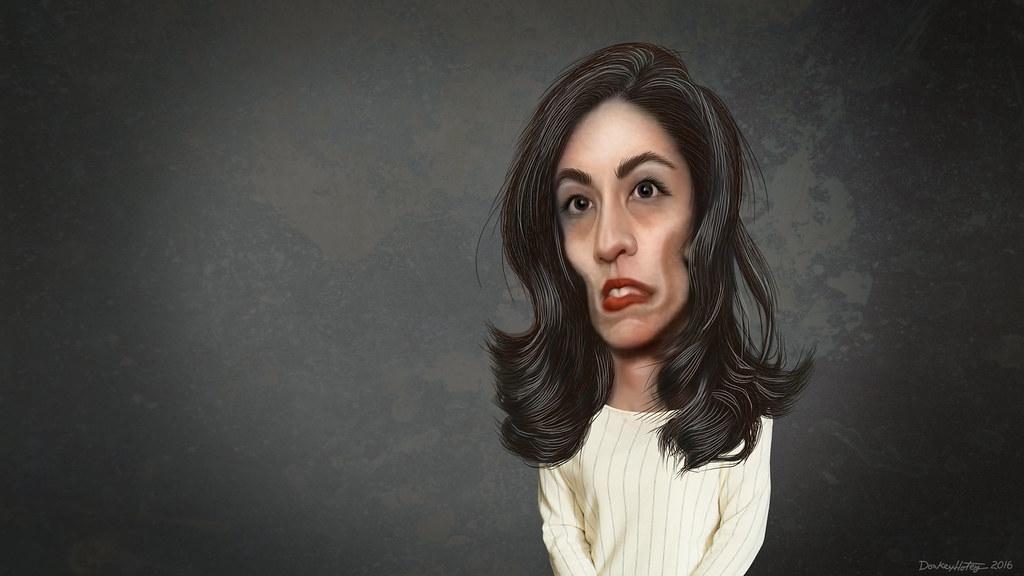 Huma Abedin - Caricature | Huma Mahmood Abedin, aka Huma Abe… | Flickr