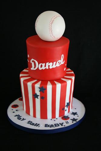 baseball baby shower cake by creative and tasty treats sandy 305