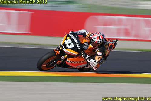 Marc Marquez blurred Valencia Moto2 Qualifying 2012 | by stevie.english