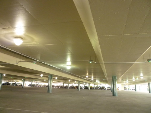 Band Beam Slab Soffit Of Four Level Coles Car Park At