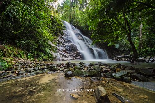 Waterfall Malaysia Selangor Rawang Selangor Malaysia