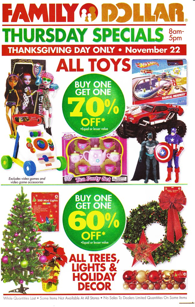 Family Dollar Christmas Day Hours.Family Dollar Monster High Flyer Adam Weatherly Flickr