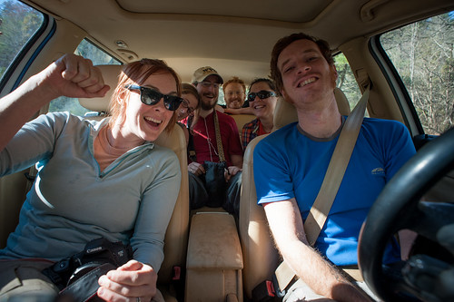 The Gang, Post-Hike 2012 (L-R: Natasha, Tara, Nick, Tyler, Jess, Pete) | by goingslowly