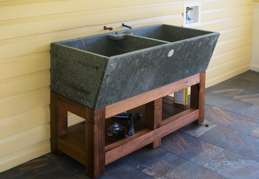 Soapstone Sink : Studio: Alberene soapstone sink Weve made some progress o ...